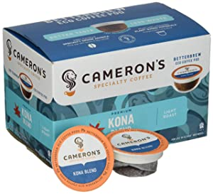 Cameron's Single-Serve Coffee, Kona Blend
