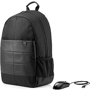 HP 1FK04AA - Pack con mochila y ratón (para portátiles de hasta 15.6