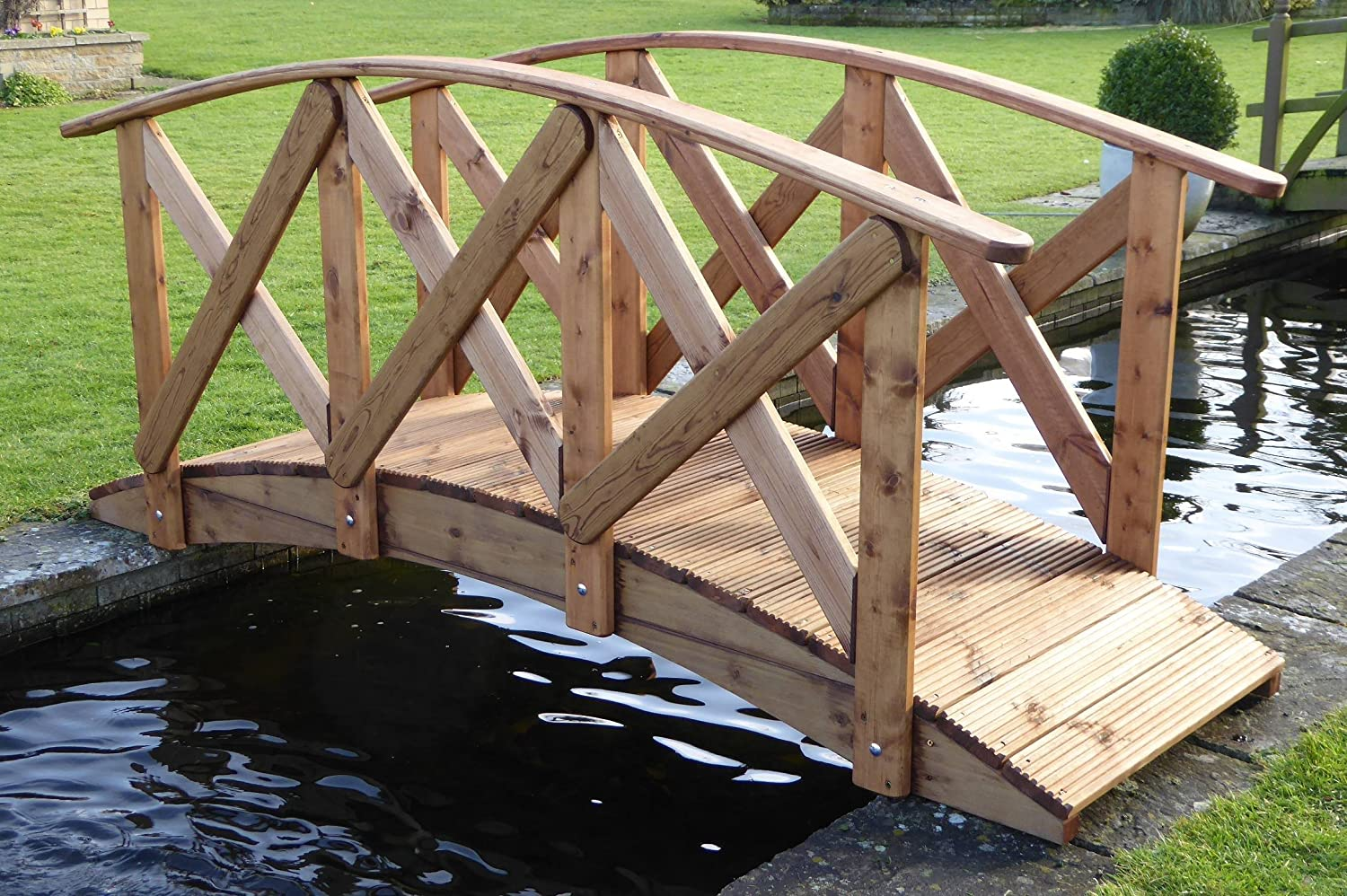Classica High Rail Garden Bridge (5ft Classica)
