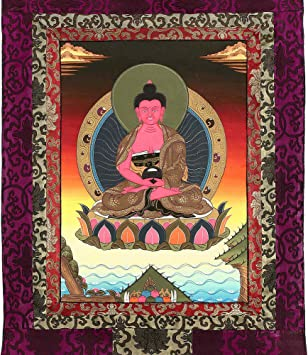 Vendedor de Estados Unidos 10 piezas espiritual religiosa TAPIZ THANGKA Tíbet Dios Hindú Arte