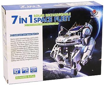 CEBEKIT-C9924 Solar Space Fleet Color Amarillo (C9924: Amazon.es: Juguetes y juegos