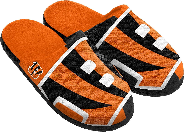 FOCO NFL Split Color Slide Slipper