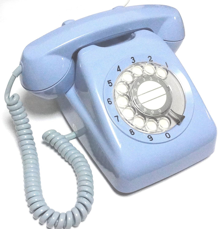 NTT 601-A2 ダイヤル式カラー電話機 (ブルー) B01BQDGOUO  ブルー