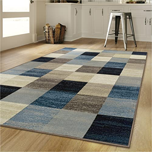 Superior s Rockaway Collection Area Rug, 10mm Pile Height with Jute Backing, Durable, Fashionable and Easy Maintenance, 9 x 12 – Multi Color