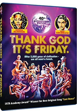 Amazoncom Thank God Its Friday 40th Anniversary Blu Ray