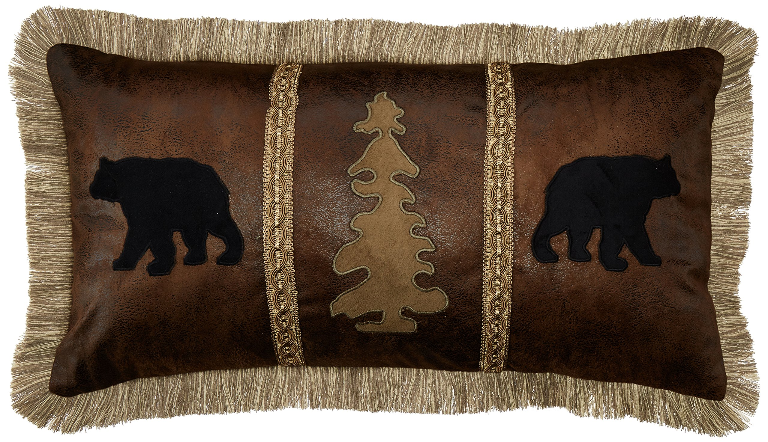 Carstens Bear Tree Bear Pillow