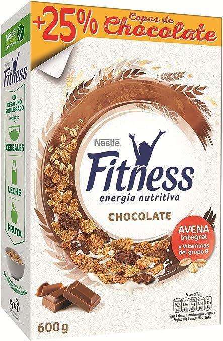 Nestlé - Fitness Chocolate Cereales Desayuno 600 g - [pack de 4]: Amazon.es: Alimentación y bebidas
