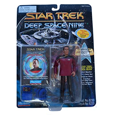Star Trek: Deep Space Nine Series 2 Commander Sisko in Dress Uniform Action Figure: Toys & Games