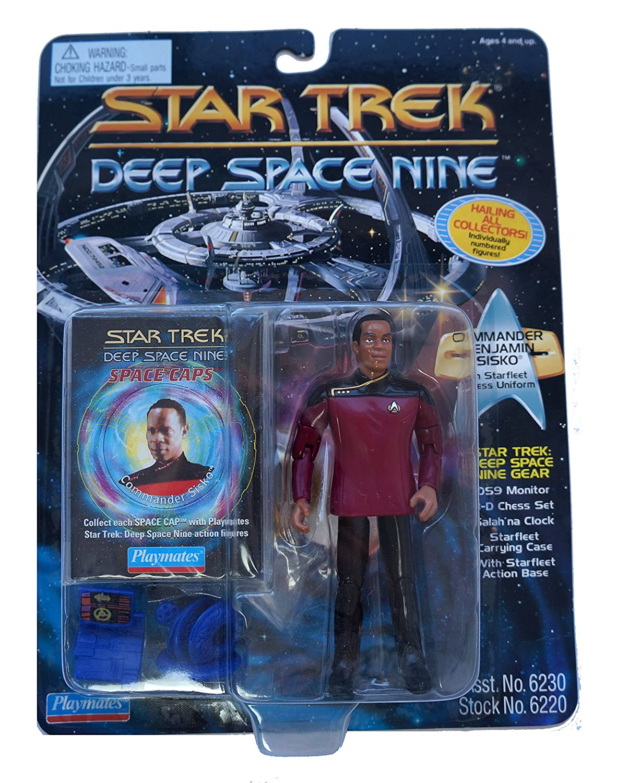 Star Trek Deep Space Nine Series 2 Commander Sisko in Dress Uniform Action Figure Playmates 6230
