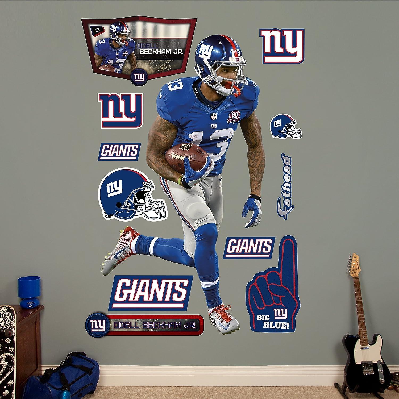 Amazon.com : NFL New York Giants Odell Beckham Jr. Big Wall Decal : Sports  U0026 Outdoors Part 40
