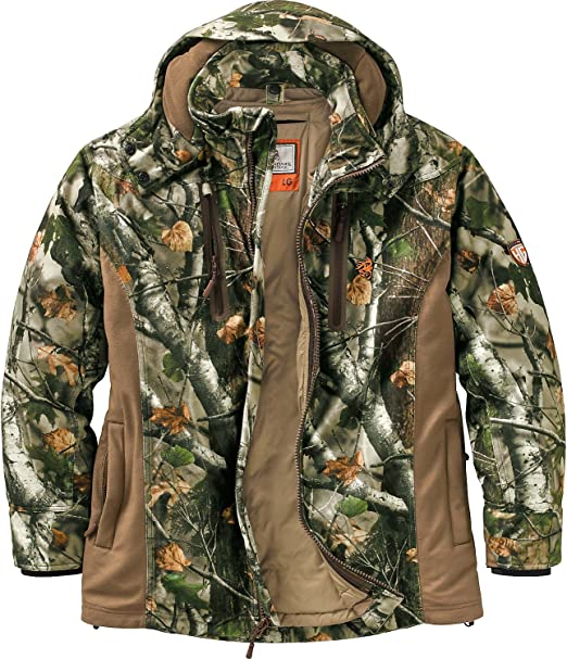 Legendary Whitetails Men's HuntGuard Reflextec Big Game Camo Hunting Jacket