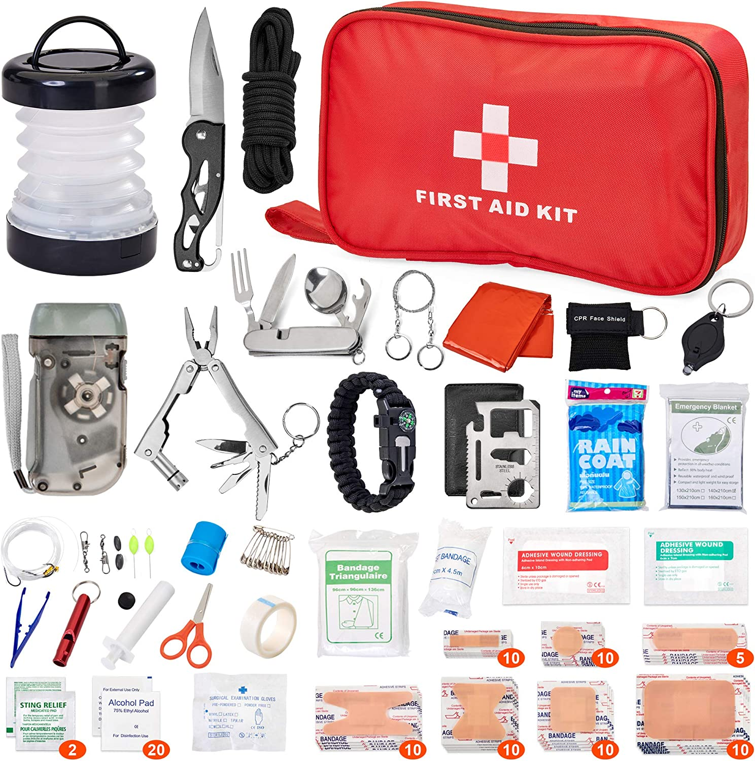 First Aid Kit for Outdoor Activities