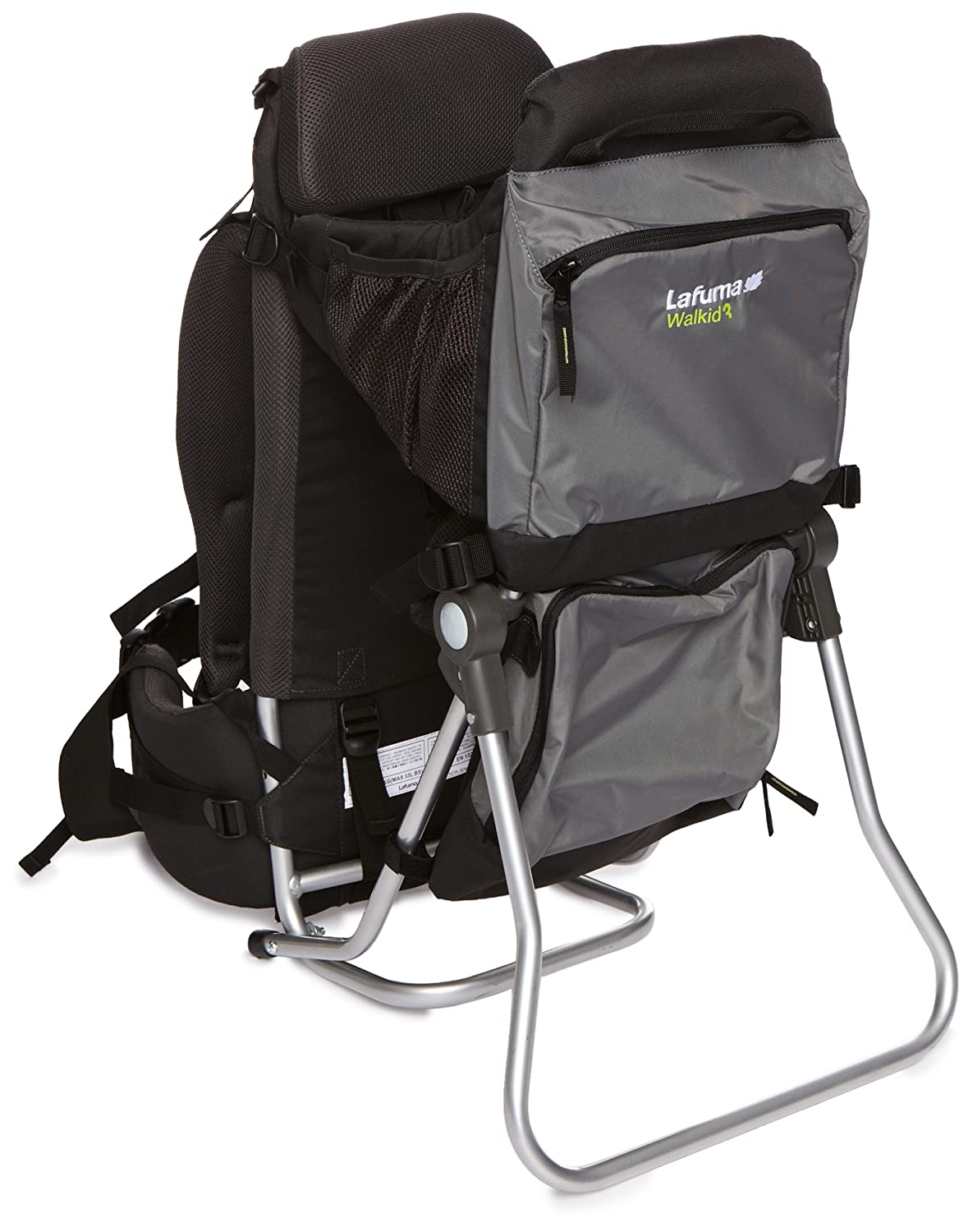Amazon.com : Lafuma baby carrier Walkid 3 grey/black : Camping Child Carriers : Baby