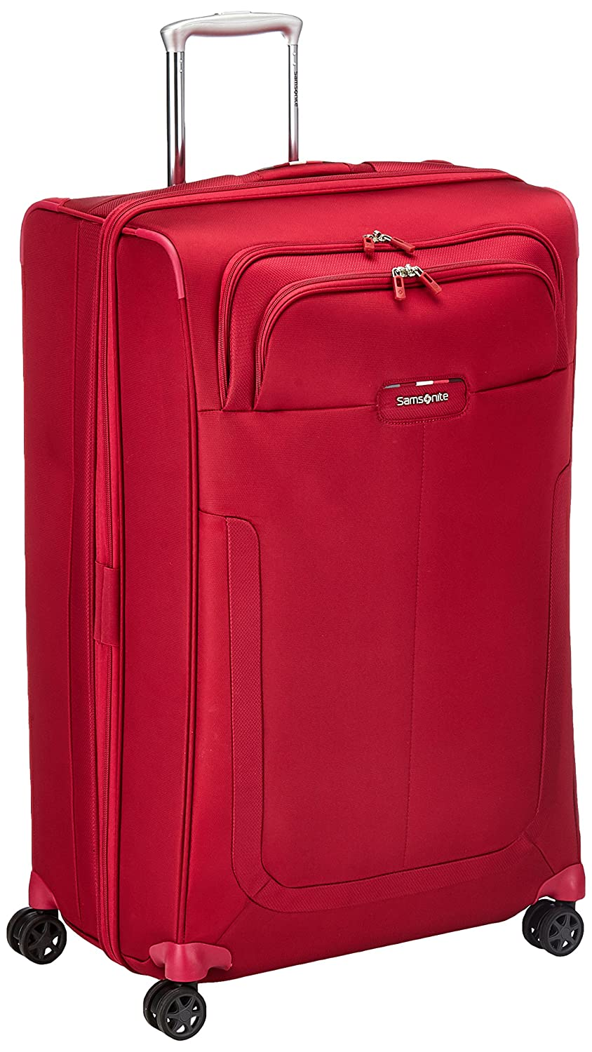 Valise cabine souple Samsonite Duosphere 55 cm Granita Red rouge