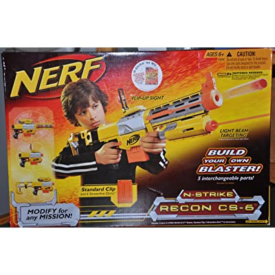 Nerf N-Strike Recon CS-6 Dart Blaster: Toys & Games