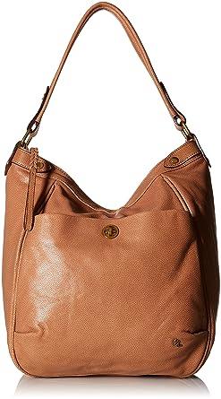 Amazon.com: Elliott Lucca Cerise Bucket Hobo, Almond: Clothing