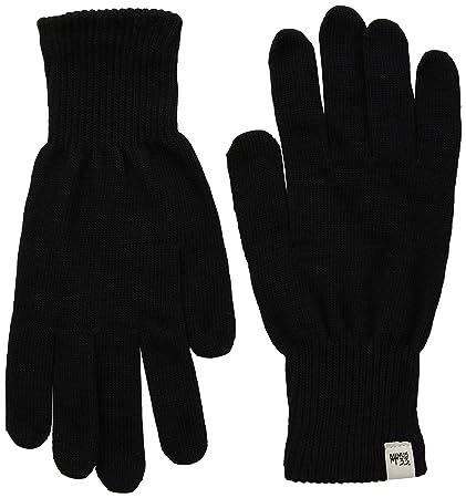 710a7c3d1850f5 minus33 Merino Wolle Handschuh Liner Black, Damen, 3600, Schwarz, M ...