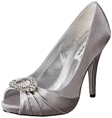 Nina Women's Elvira YS Dress Pump, Royal Silver, ...
