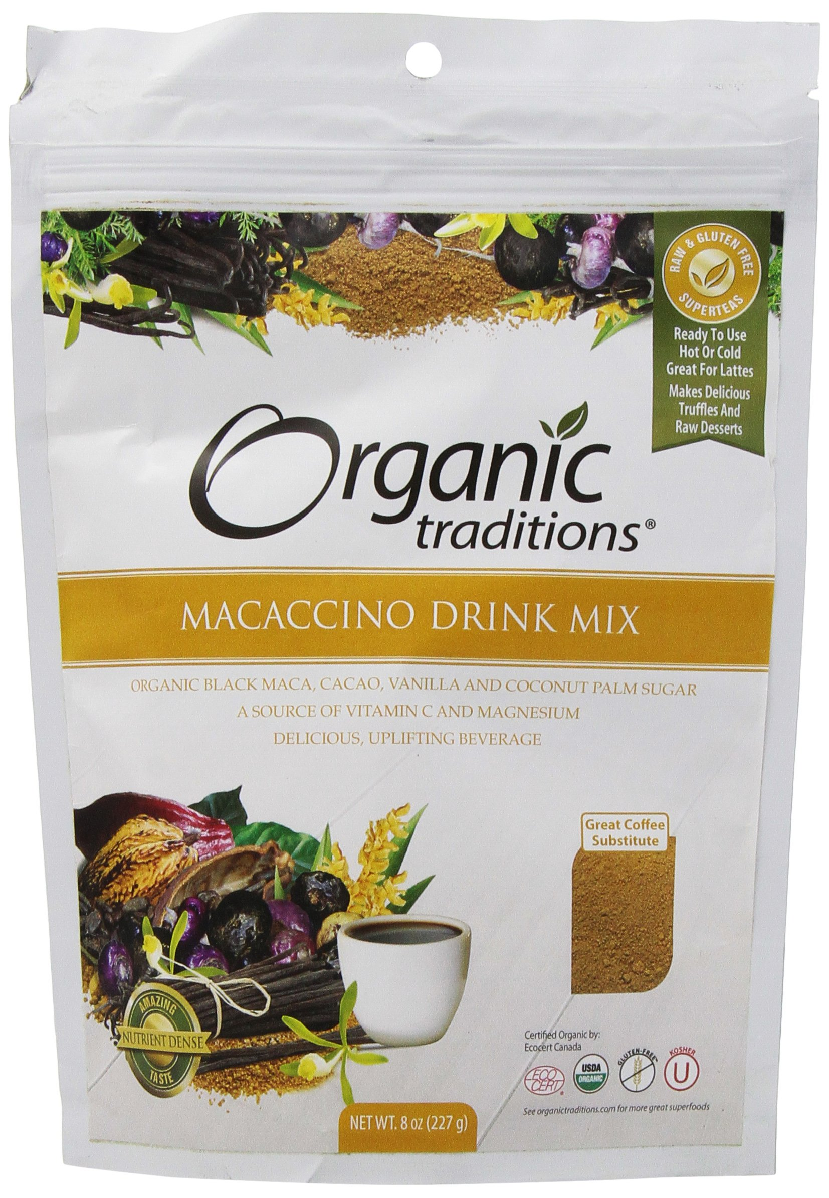 Organic Traditions Macaccino, 8 Ounce by Organic Traditions (Image #1)