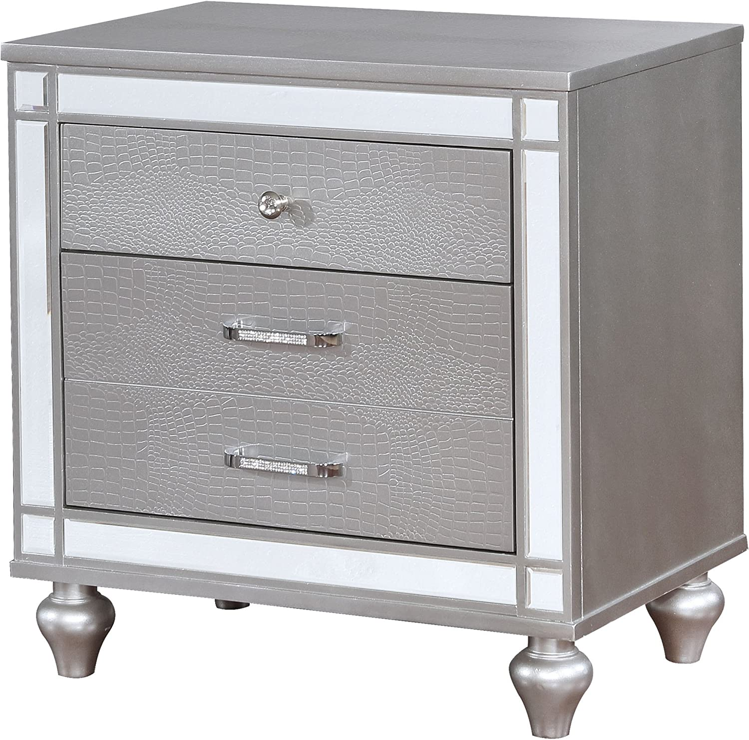 HOMES Inside Out Wallen Nightstand,