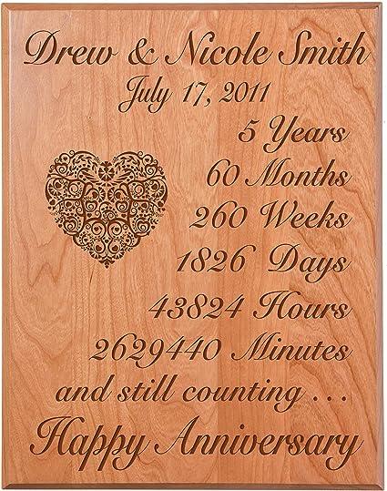 Personalisierte 6. Hochzeitstag Wandschild Geschenke für Paar, Custom Made  6 Jahre Geschenk zum Jahrestag Ideen für Sie, 6. Jahr Hochzeit Jahrestag