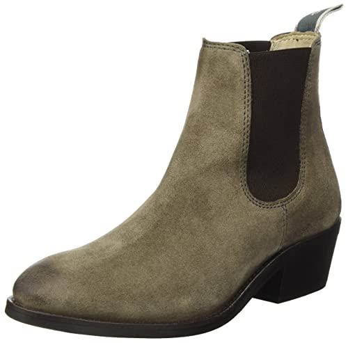 Womens Mid Heel Chelsea 70814215101304 Slouch Boots Marc O'Polo ugip42cacI