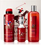 Beverly Hills Polo Club Gift Set 1 for Men (Eau De Toilette, Body Wash and Deodorant)