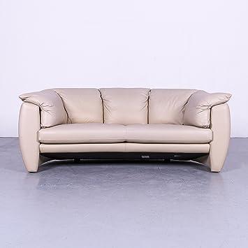 Amazonde Leolux Designer Leder Sofa Beige Grau Zweisitzer Couch