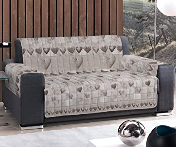 Funda para sofá de cuatro plazas (230 - 235 cm) o sillón de ...