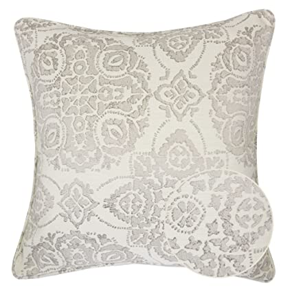 Amazon Home Accent Pillows Homey Cozy Jacquard Cotton Throw Custom Gray And Beige Decorative Pillows