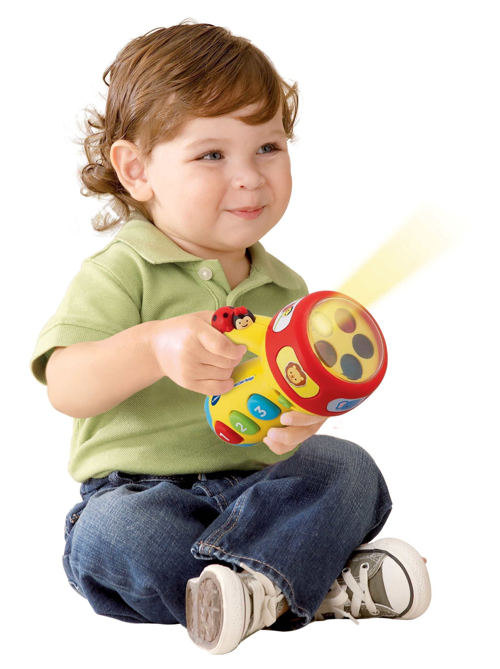 VTech Spin and Learn Color Flashlight, Yellow by VTech (Image #2)