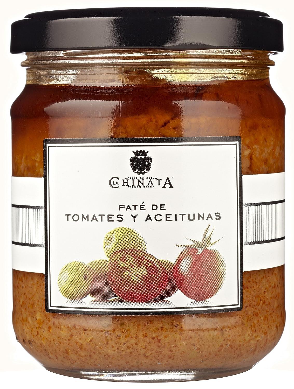 Paté de Tomates & Aceitunas (180 g) - La Chinata: Amazon.es: Alimentación y bebidas