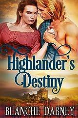 Highlander's Destiny: A Clean Time Travel Romance Kindle Edition