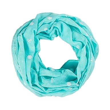f14687d278c ManuMar  Eacute charpe-tube pour femme Motif  eacute toiles avec effet 3D  Id eacute