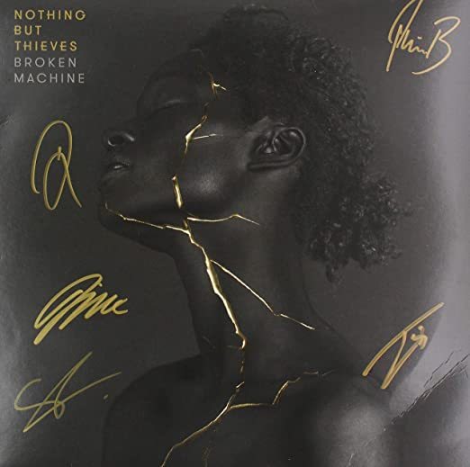 Nothing But Thieves Broken Machine 2017 T-3389 Art Poster 24x36 27x40