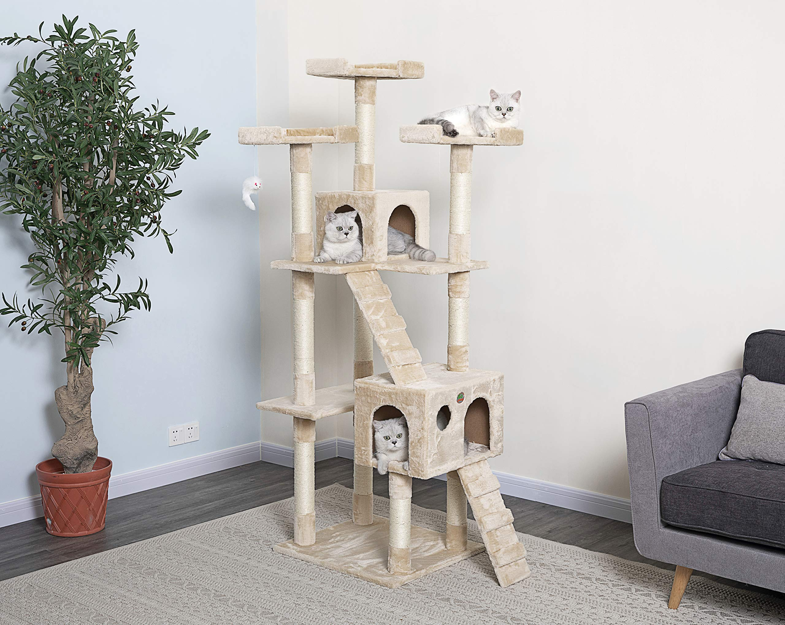 Go Pet Club 72″ Cat Tree
