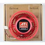 Eathtek Replacement ATI Video Card 75mm Fan for HD 6990 6970 6950 6870 6850 5850 4870 5970 5870 5850 4890 5450 5650 4350