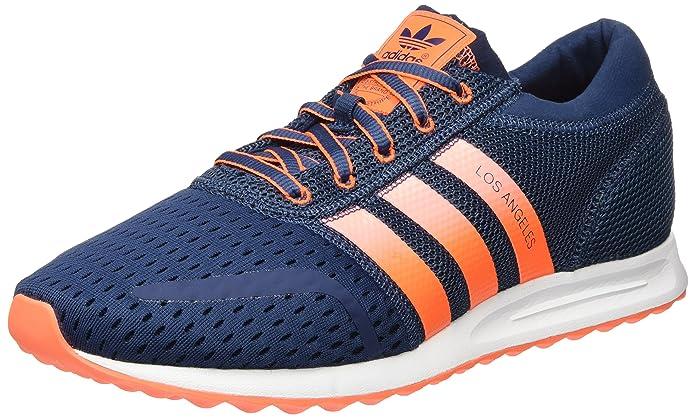 830217a7b9 Adidas Mit Angeles Los Herren Blau Streifen Schuhe Orangen Günstig OPn0wkXN8