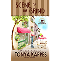 Scene of the Grind: A Dog Cozy Mystery (A Killer Coffee Mystery Series Book One) (English Edition)