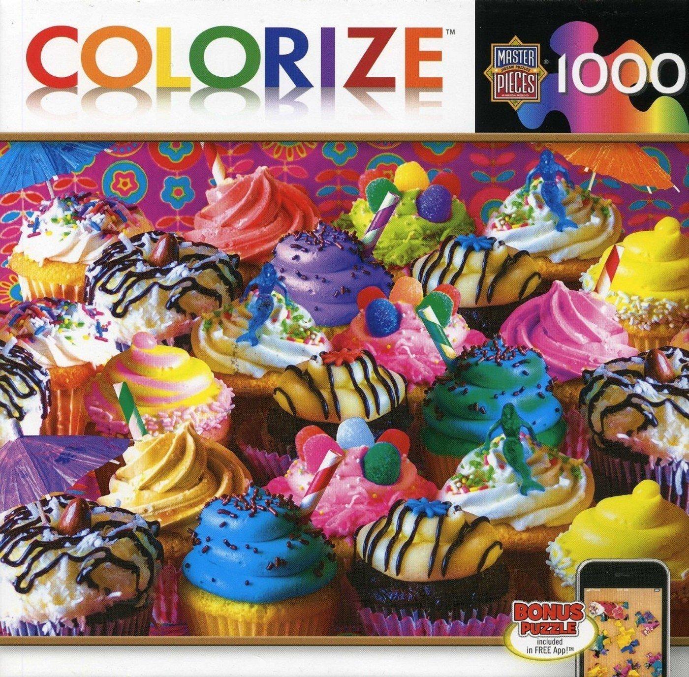 Masterpieces 71465 Aimee Stewart Dessert Delight Puzzle, 1000 Pieces