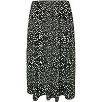 WearAll - Mujeres Tallas Grandes Falda Cintura Elastica