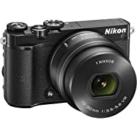 Nikon VVA241K001 1 J5 Compact System Camera (20.8 MP, 10-30 mm PD-Zoom Lens Kit, 4K Movie Shooting) - Black