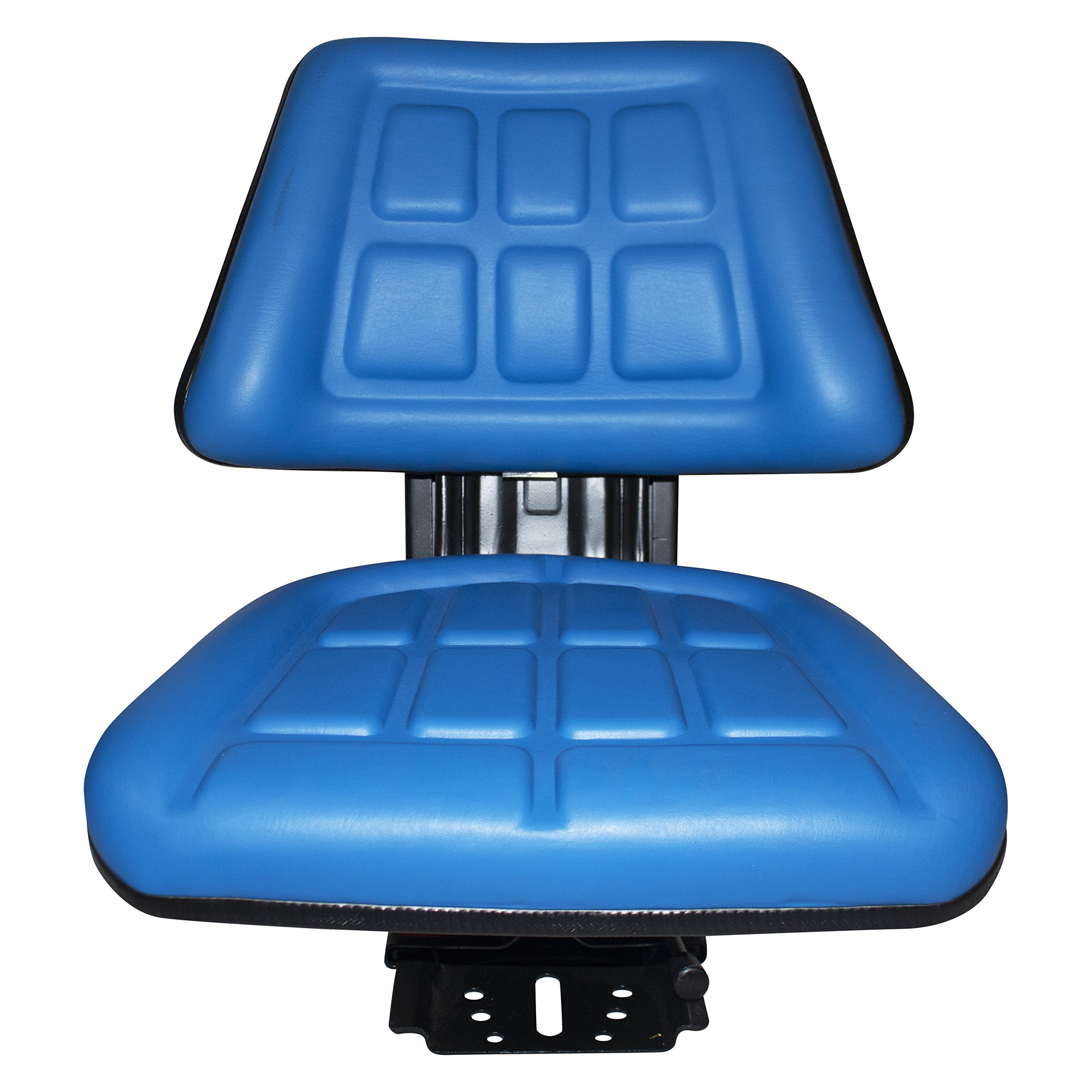 Blue TRAC SEATS Brand TRIBACK Style Universal Tractor Suspension SEAT with TILT FITS Ford/New Holland 3000 3010 3300 3330 3400 3600 3610 (Same Day Shipping - Delivers in 1-4 Business Days) by TRAC SEATS