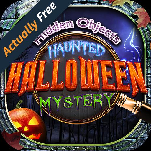 Hidden Object Haunted Halloween Mystery – Ghosts, Pumpkins,