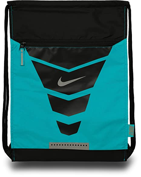 Amazon.com   Nike Vapor Gymsack Backpack (Blue Lagoon Black Metallic ... a6c6640953d68