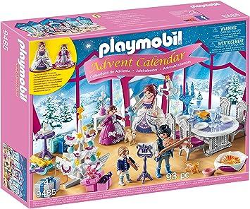 Calendrier L Avent Playmobil.Playmobil Calendrier De L Avent Bal De Noel Salon De Cristal 9485