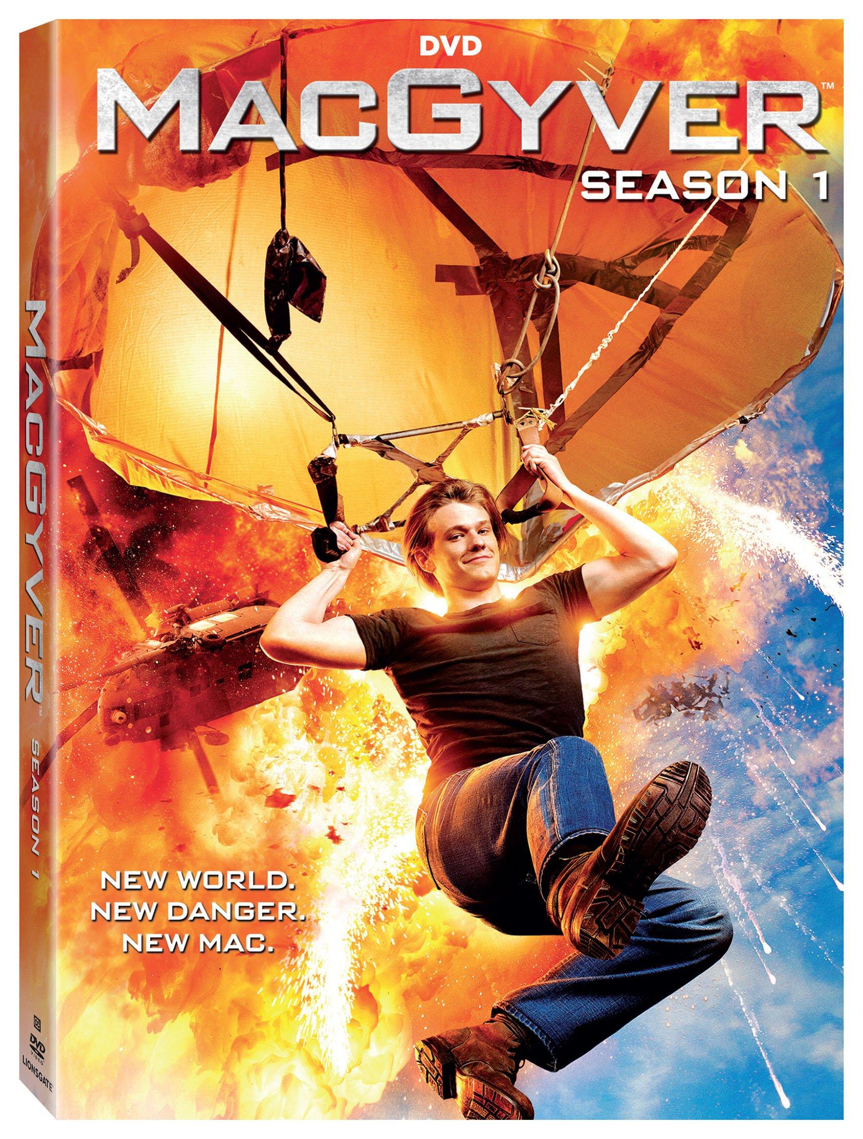 DVD : Macgyver: Season 1 (Boxed Set, Dolby, Widescreen, 5PC)