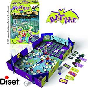 Diset Juego Bat Pat El Tesoro Del Cementerio: Amazon.es: Juguetes y juegos