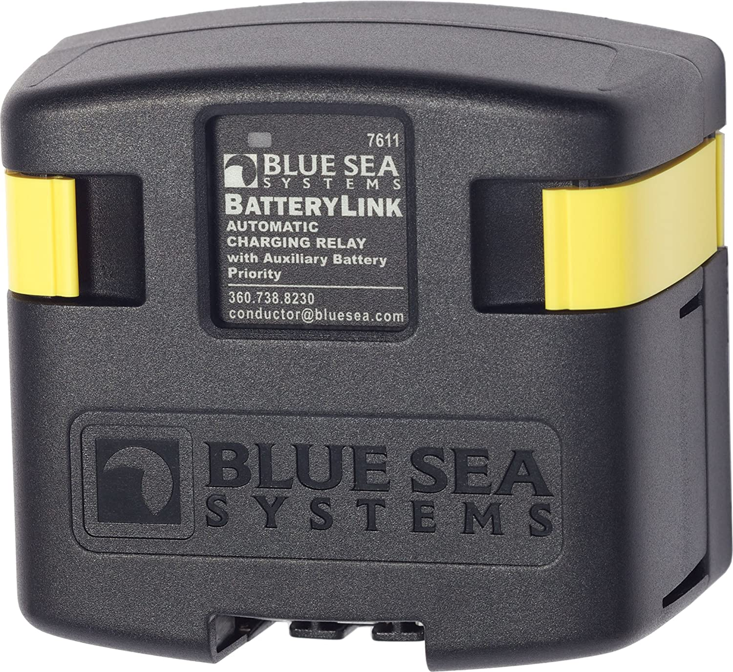 Blue Sea Systems Batterylink 12v 24v Dc 120a Automatic Battery Isolator Marine Further 2 Alternator 3 Wiring Charging Relay Sports Outdoors