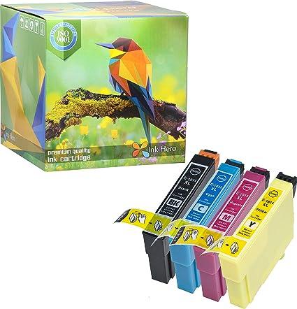 HERO 4 de tinta cartuchos de tinta para Epson 18 X L ...